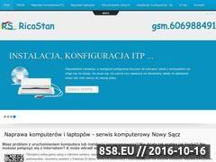 Miniaturka domeny www.serwis-nowysacz.lap.pl