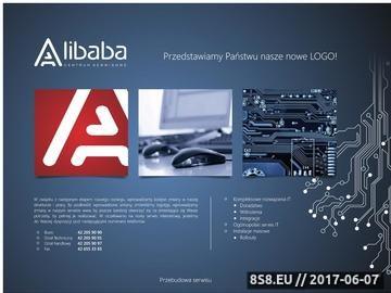 Zrzut strony Obsługa serwisowa firm - serwis notebooków, drukarek i komputerów Alibaba