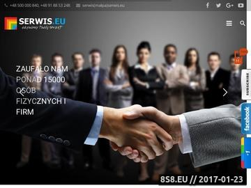 Zrzut strony Serwis komputerowy, obsługa informatyczna - Serwis.eu - ożywimy twój sprzęt