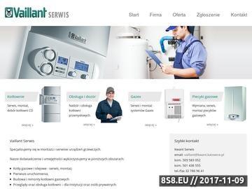Zrzut strony KWANT - serwis urządzeń grzewczych