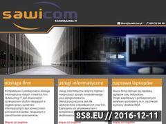 Miniaturka domeny www.serwis.sawicom.pl