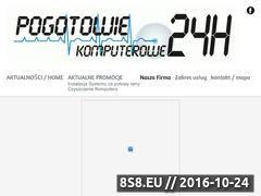 Miniaturka domeny serwis24h.com.pl