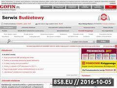 Miniaturka domeny serwisbudzetowy.pl