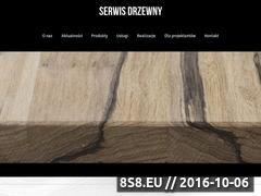 Miniaturka domeny www.serwisdrzewny.pl