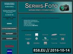 Miniaturka domeny serwisfoto.net.pl