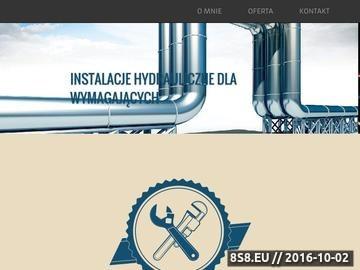 Zrzut strony Serwis hydrauliczny
