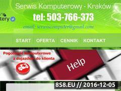 Miniaturka Serwis Komputerowy Kraków 503 766 373 (www.serwiskomputery.pl)