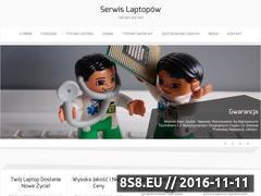 Miniaturka domeny serwislaptopow.com