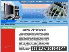 Miniaturka domeny serwislaptopowwarszawa.com.pl