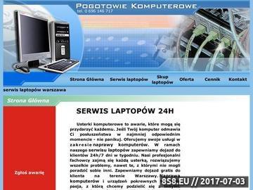 Zrzut strony Naprawa komputerów Warszawa