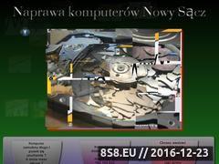 Miniaturka domeny serwisnowysacz.cba.pl