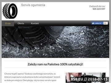 Zrzut strony Serwis ogumienia - felgi