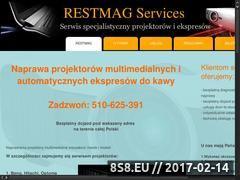Miniaturka domeny www.serwisprojektorow.pl