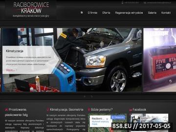 Zrzut strony Mechanika samochodowa - SerwisRaciborowice.pl