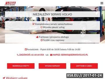 Zrzut strony Kompleksowa naprawa samochodów marki Volvo