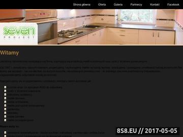 Zrzut strony Seven Project meble pod sprzęt komputerowy