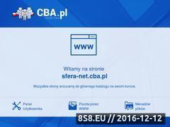 Miniaturka domeny www.sfera-net.cba.pl