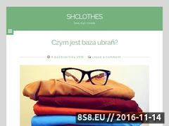 Miniaturka domeny shclothes.pl
