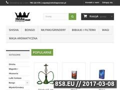 Thumbnail of Shisha Sklep w Poznaniu Website