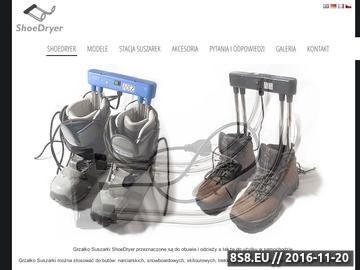 Zrzut strony Suszarki do butów narciarskich, snowboardowych