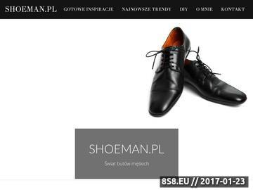 Zrzut strony Eleganckie obuwie męskie