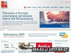 Miniaturka domeny www.si-consulting.pl