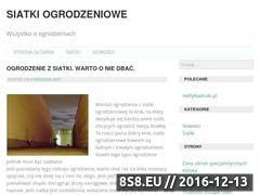 Miniaturka domeny www.siatki-ogrodzeniowe.rzeszow.pl