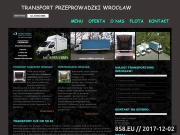 Zrzut strony Transport ciężarowy