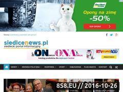 Miniaturka domeny www.siedlcenews.pl