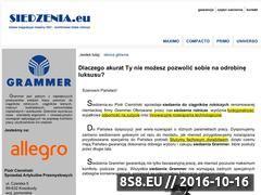 Miniaturka domeny siedzenia.eu