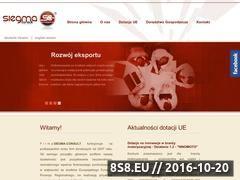 Miniaturka domeny siegmaconsult.eu