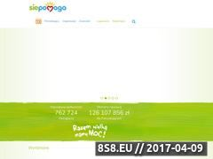 Miniaturka domeny www.siepomaga.pl