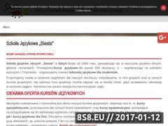 Miniaturka domeny www.siesta.pl