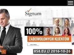 Miniaturka domeny www.signum.org.pl