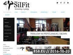 Miniaturka domeny www.silfit.pl