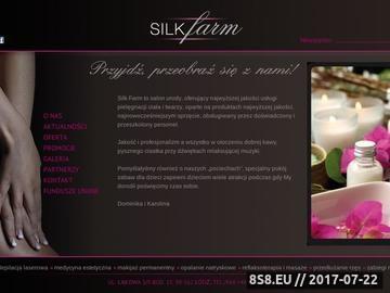 Zrzut strony Silkfarm.pl