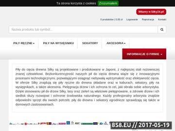 Zrzut strony Silky24.pl - piły do drzew dla arborystów