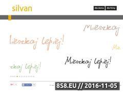 Miniaturka domeny silvan.pl