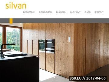 Zrzut strony Silvan - meble na zamówienie dla domu i firmy - Gdynia, Gdańsk