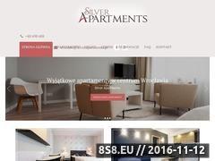 Miniaturka domeny www.silverapartments.pl