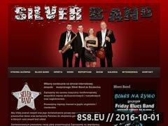 Miniaturka domeny silverband.pl