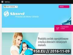 Miniaturka domeny www.simed.pl