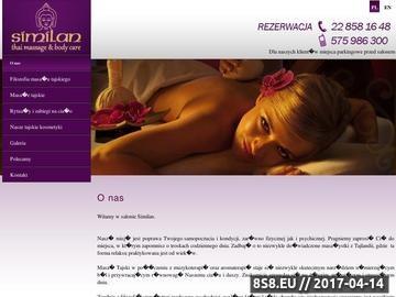 Zrzut strony Masaż tajski Warszawa