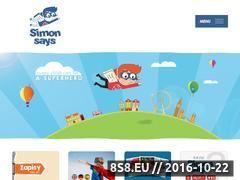 Miniaturka domeny www.simonsays.pl