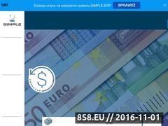 Miniaturka domeny www.simple.com.pl