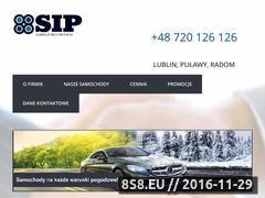 Miniaturka domeny www.sip-auto.pl