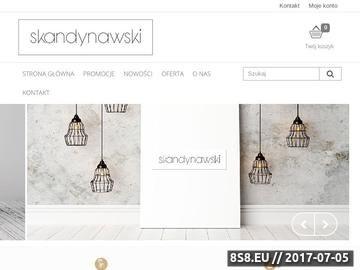 Zrzut strony Styl skandynawski - sklep