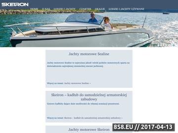 Zrzut strony Jachty motorowe oraz łodzie elektryczne