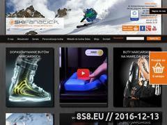 Miniaturka domeny www.skifanatic.pl