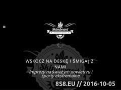 Miniaturka domeny skimboard.org.pl